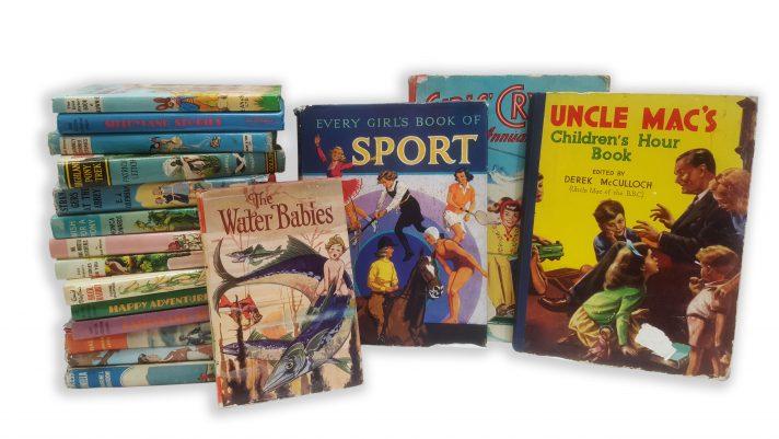 Children's Vintage Books per metre