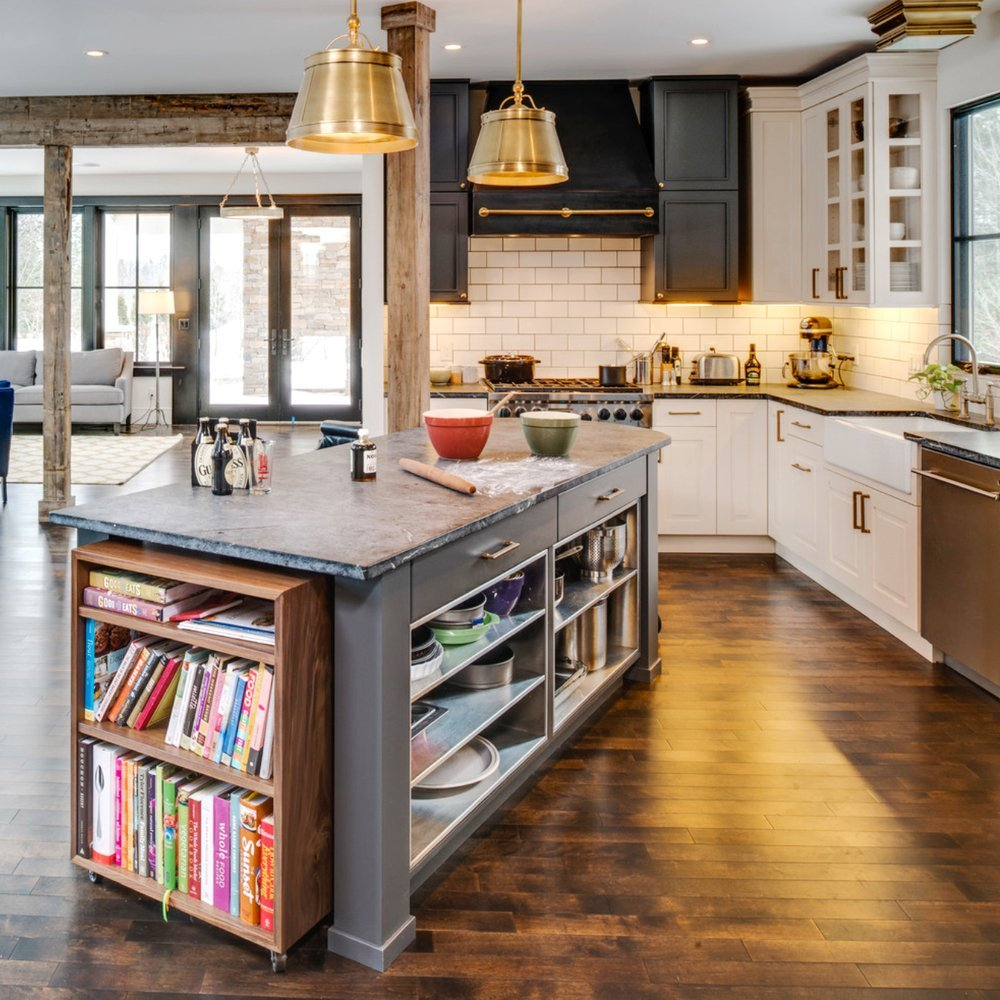 Unique Small Kitchen Island Ideas To Try: 7 Easy Ways To Use Books In Your Décor